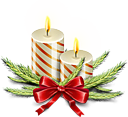 Christmas Celebration Candles
